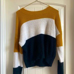 ambiance apparel sweater. medium